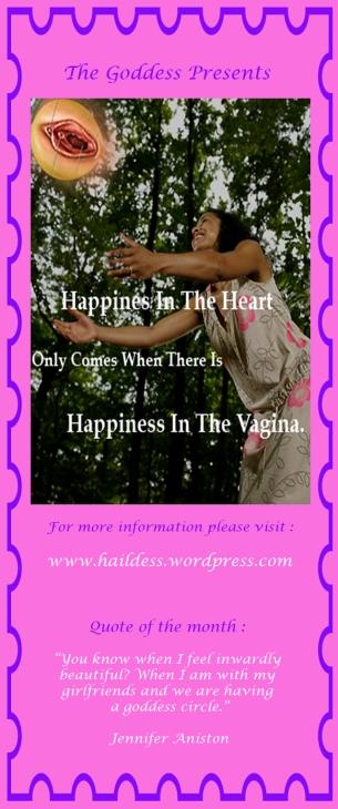 Front Page Goddess Pamphlet
